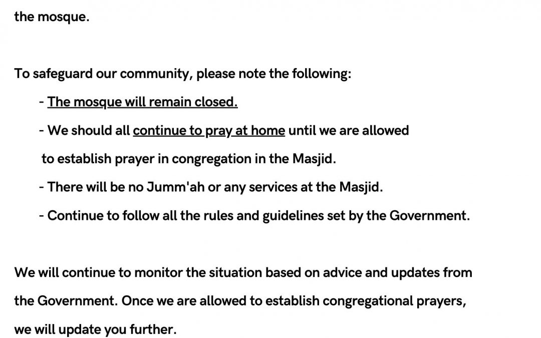 Masjid Sunnah Update